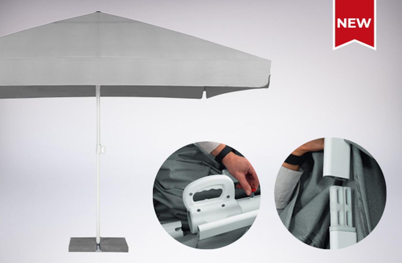 NEU: Mobiler Großschirm