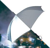 Regenschirm komplett reflektierend