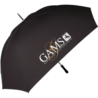 Regenschirm Gams bedruckt