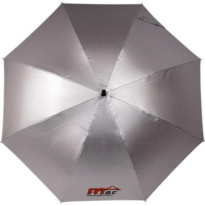 Regenschirm in silber