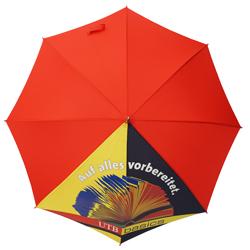 Regenschirm teilbedruckt bunt