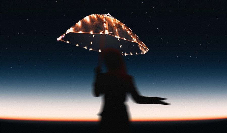 Deko Regenschirm